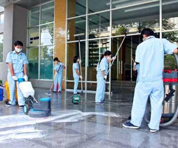 Dịch vụ vệ sinh tại Bình Tân